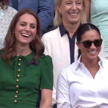 Simona Halep, felicitată de Kate Middleton