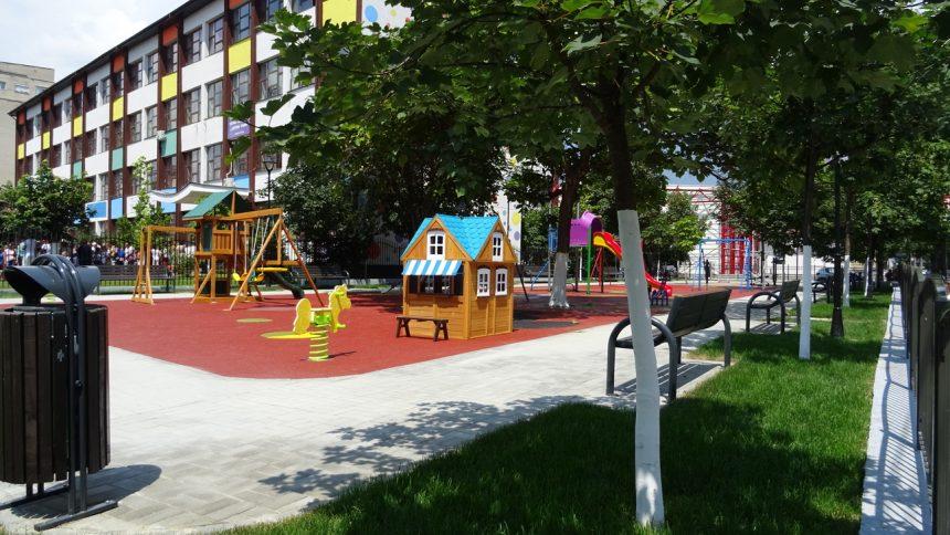 Un nou spațiu dedicat copiilor în cartierul Ostroveni