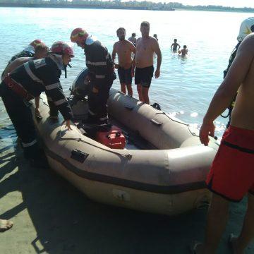 Tânăr căutat în Dunăre