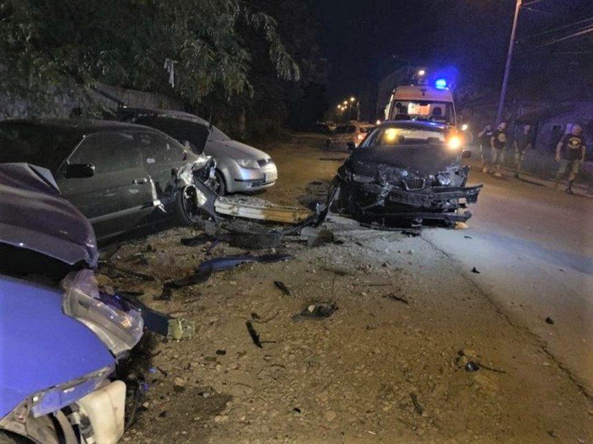 Accident grav, provocat de un gorjean în Timișoara