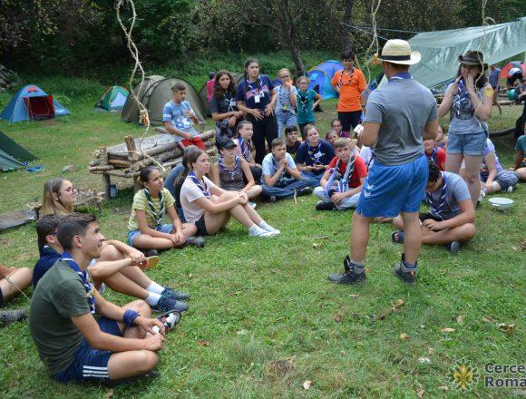 Tabără educațională în natură, pe Valea Cernei
