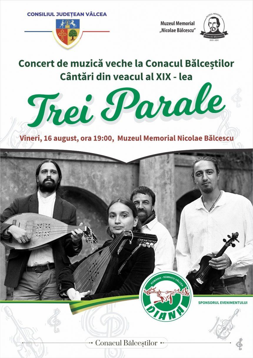 """""""Concert de muzică veche la Conacul Bălceștilor – Cântări din veacul al XIX-lea"""""""