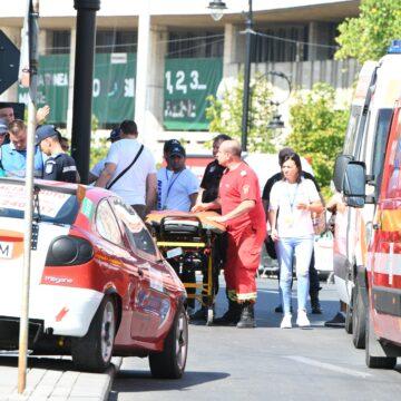 Accident la raliul din Craiova