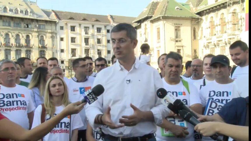 Barna și-a depus candidatura la prezidențiale