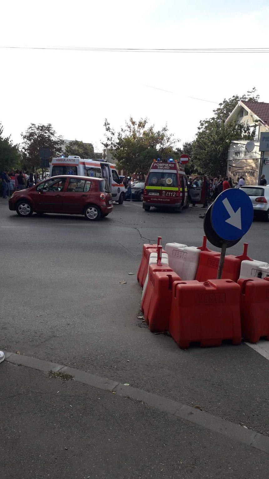 Accident în zona Sărari