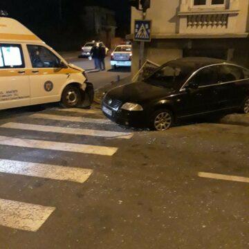 Accident cu ambulanța