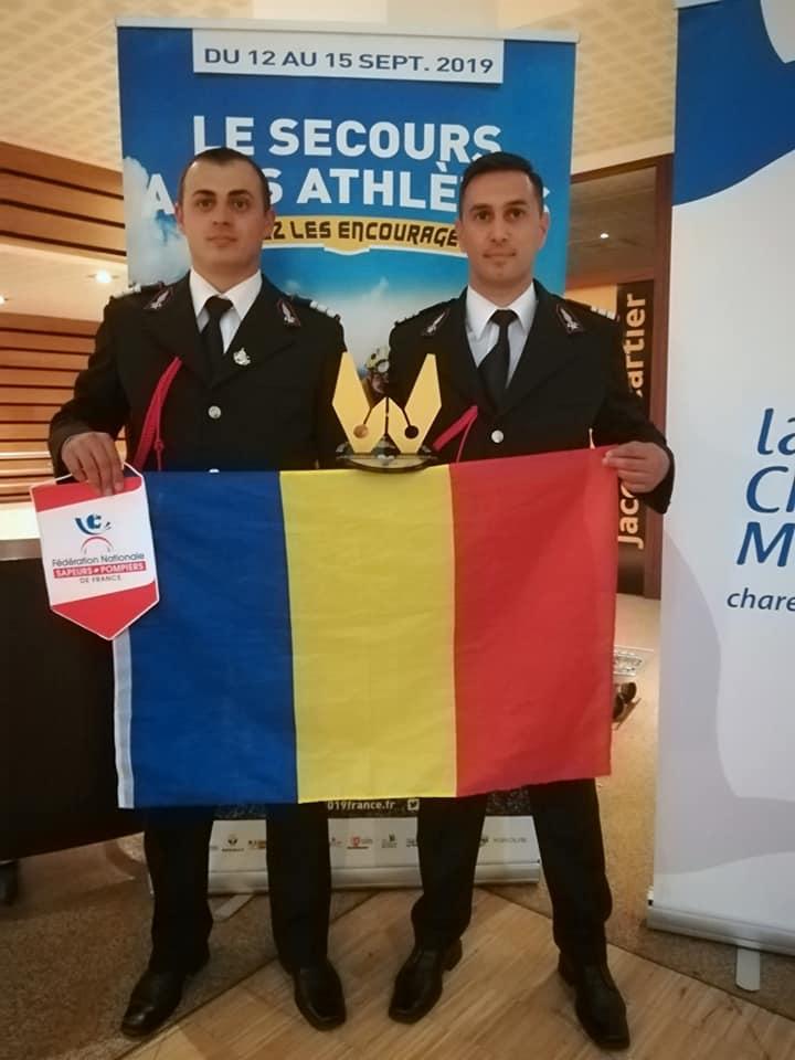 ISU Vâlcea, pe podium la Competiția Mondială de Salvare