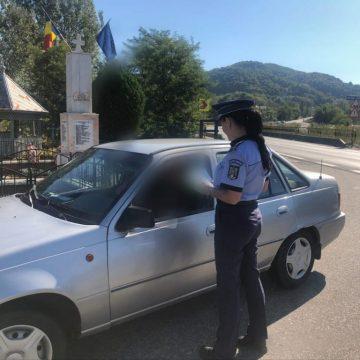 Sute de sancțiuni, dosare penale și permise reținute în urma unei razii a Poliției Rutiere Vâlcea