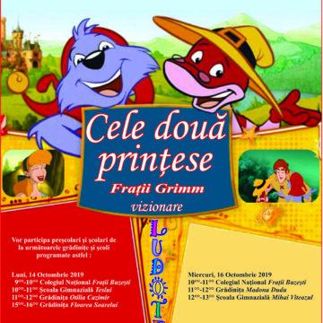 Cele două prințese – Frații Grimm (vizionare)
