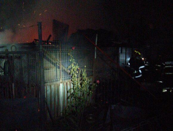 Incendiu in Bariera Valcii