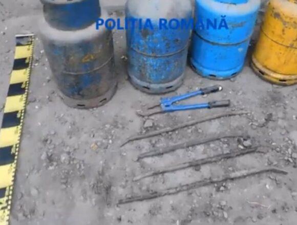 Polițiștii gorjeni au efectuat 6 percheziții și au reținut un bărbat