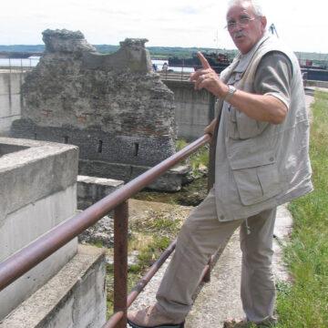 Se va ridica un ponton special la Piciorul Podului lui Traian