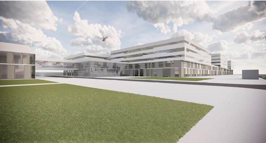 Spitalul Regional Craiova – 7 etaje, 807 paturi