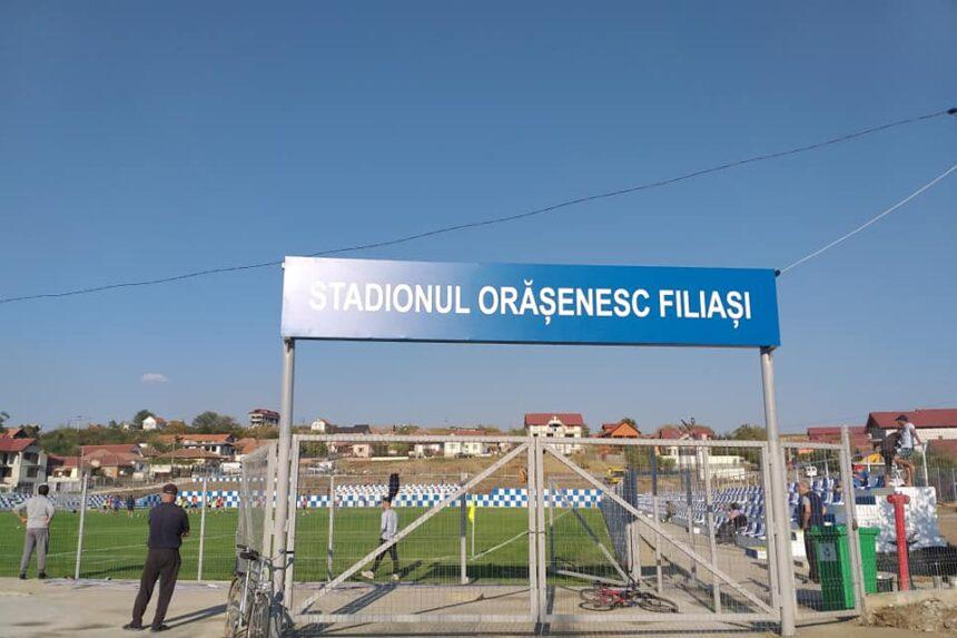 Filiași, polul fotbalului de liga 3 din Dolj!