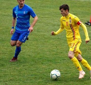 Vali Mihăilă, primul gol pentru România U21!