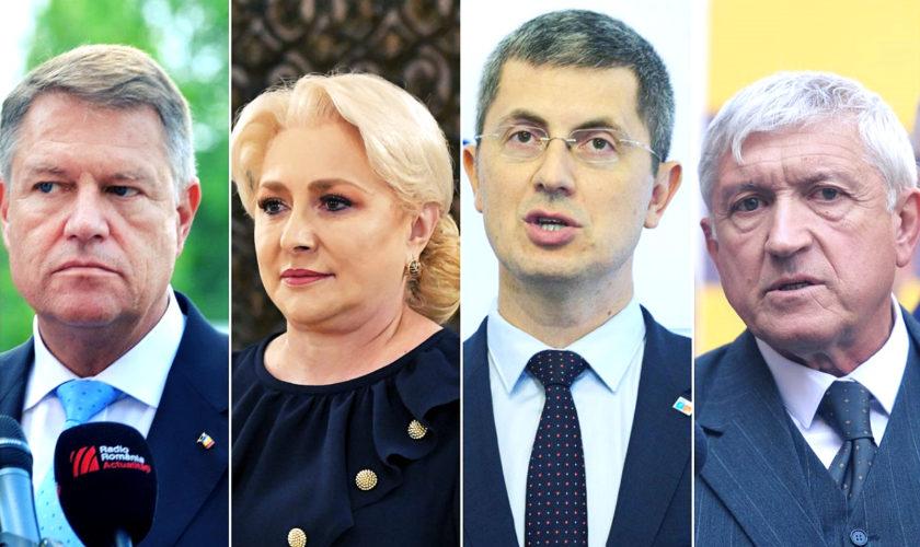 Mehedinți: Dăncilă a câștigat turul I, la 5 procente în fața lui Iohannis