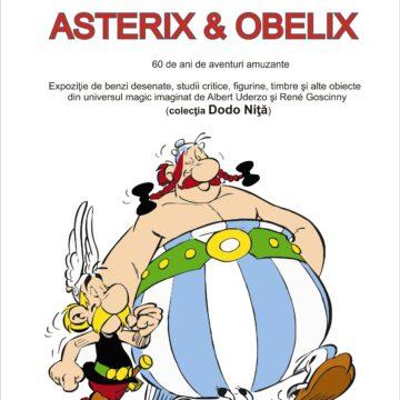 Expoziţie de benzi desenate, studii critice, figurine, timbre şi alte obiecte din universul magic imaginat de Albert Uderzo şi René Goscinny (colecţia Dodo Niţă), la Aman