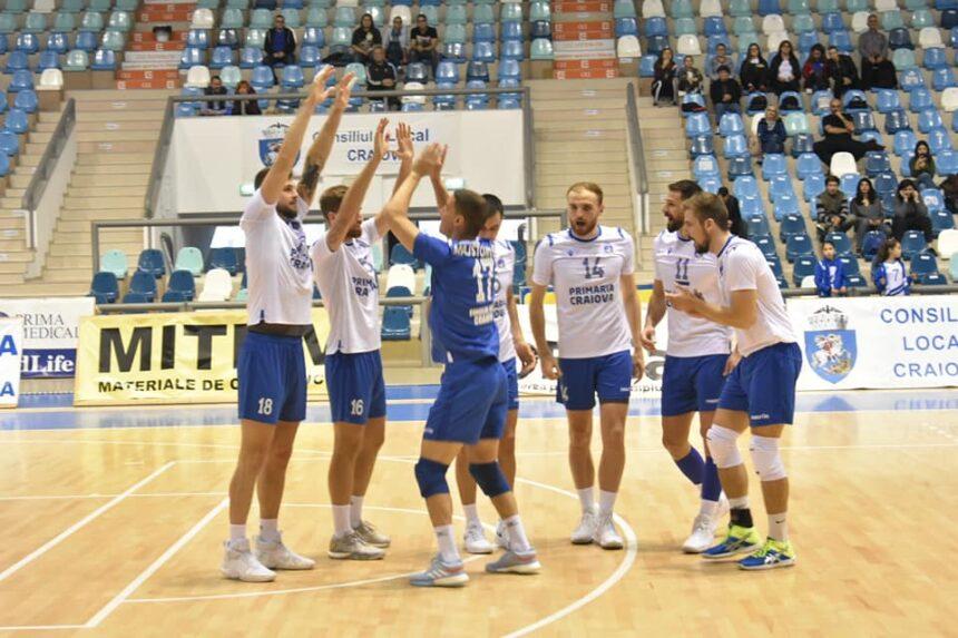 Voleibaliștii craioveni încep meciurile europene