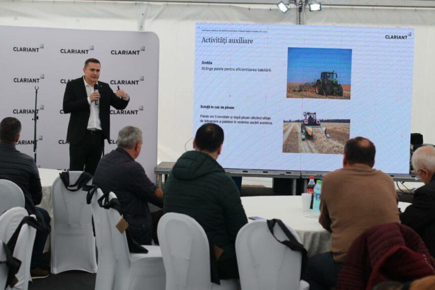 Clariant extinde rețeaua parteneriatelor cu fermierii din Oltenia