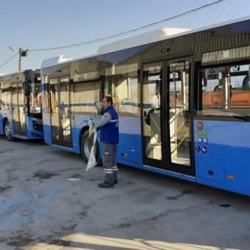 Noile autobuze, predate RAT, fără discuţii