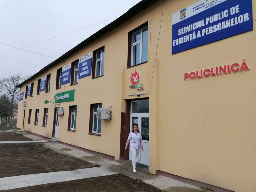 Policlinică, stomatologie şi propriul serviciu de evidenţă a persoanelor într-o comună din Dolj