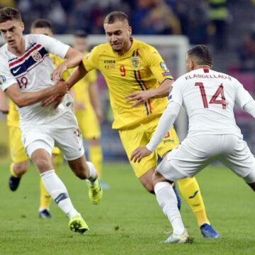 Naționala României a coborât 8 poziții în clasamentul FIFA