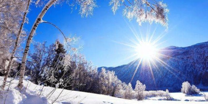 ANM: Temperaturi ridicate de Crăciun