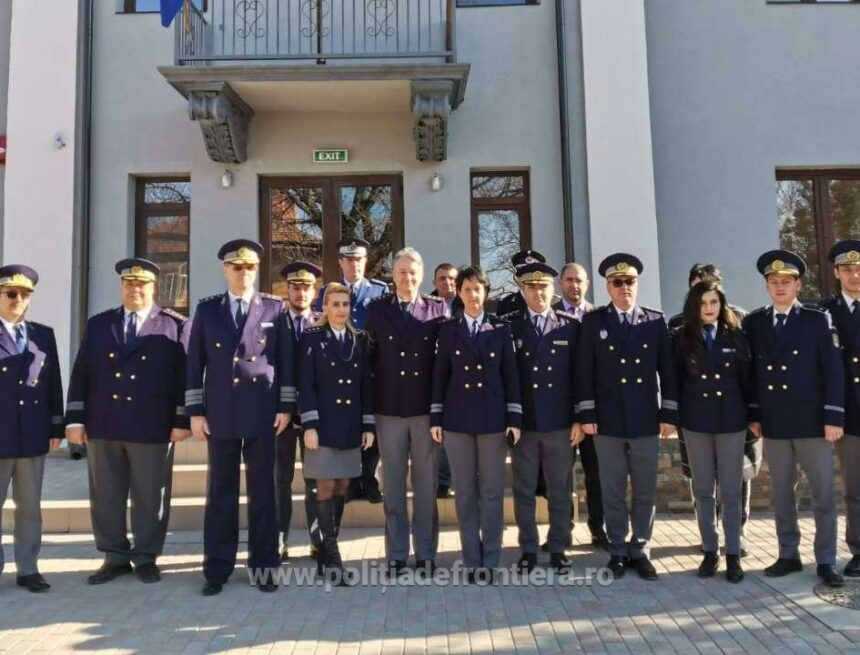 Poliţia de Frontieră Calafat are sediu modern