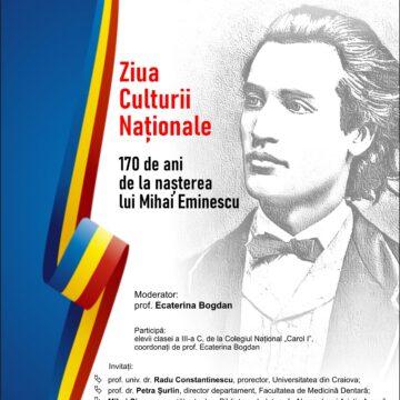 """""""Ziua Culturii Naționale"""", laBiblioteca Județeană Alexandru și Aristia Aman"""