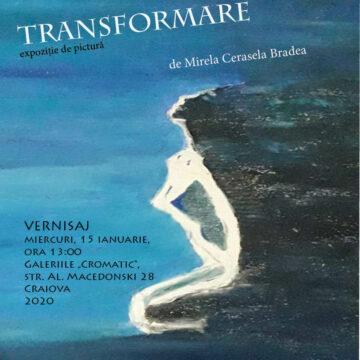 """""""Transformare"""" prin emoție și culoare, de Ziua Culturii Naționale, la Galeriile """"Cromatic"""""""