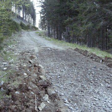 Gorj. Trei turiști au rămas blocați pe un drum forestier din Baia de Fier
