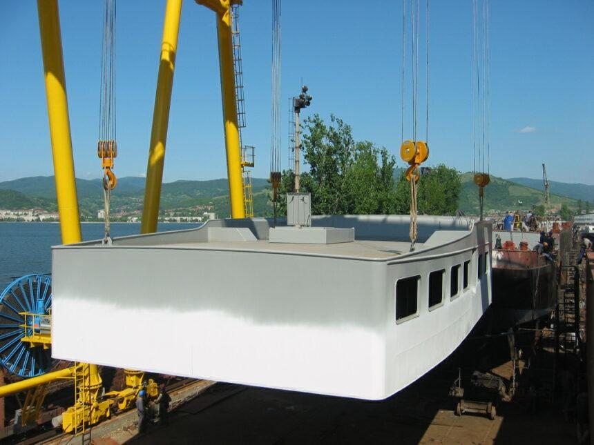 Investiţii de 4 milioane lei la Şantierul Naval Orşova