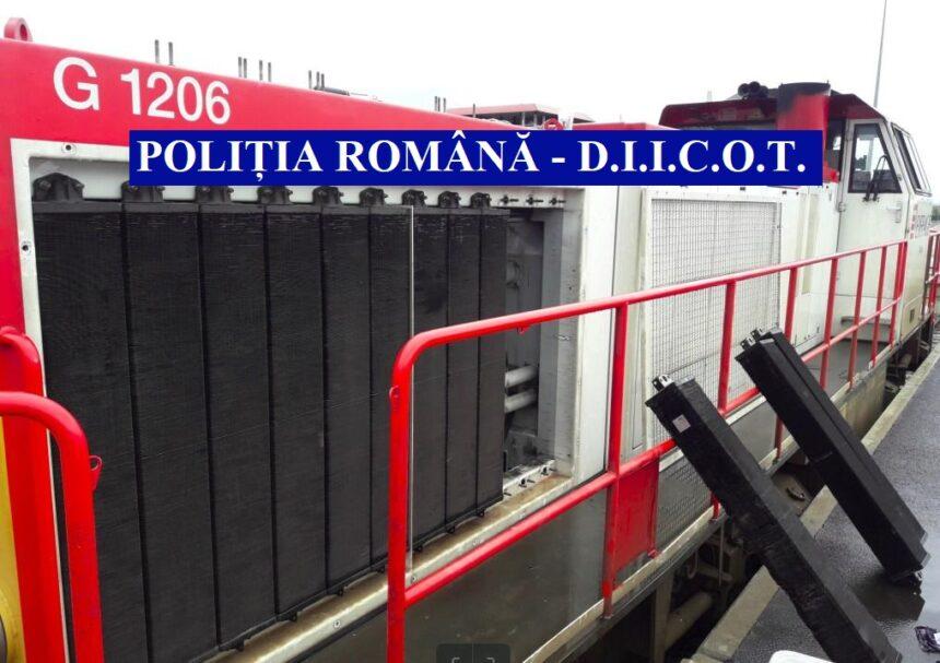 Români în Franţa: Au furat  componente de locomotivă de 1 milion de euro