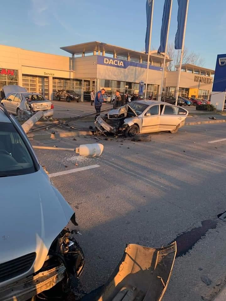 Accident pe Raului