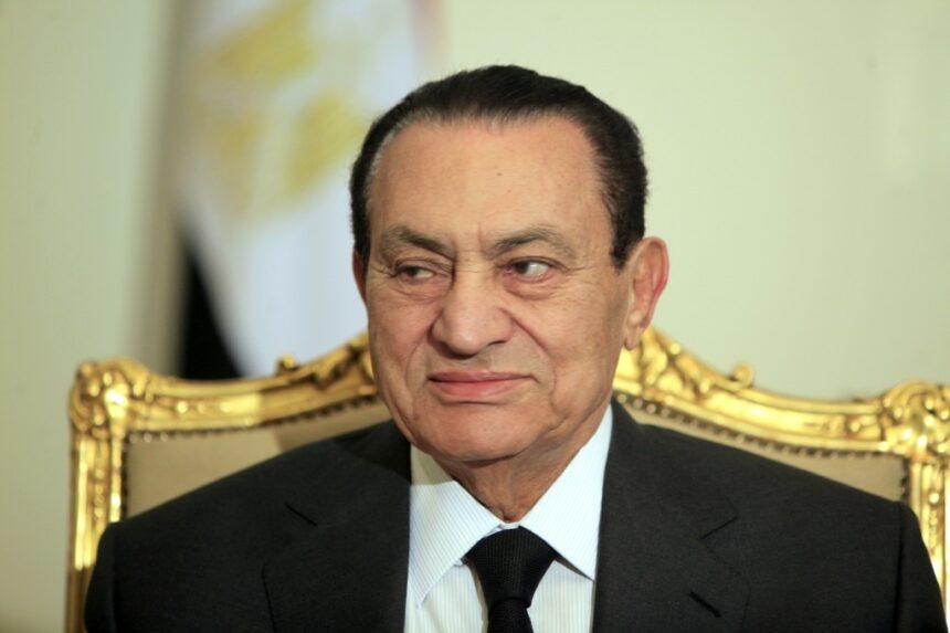 Fostul președinte al Egiptului Hosni Mubarak a murit
