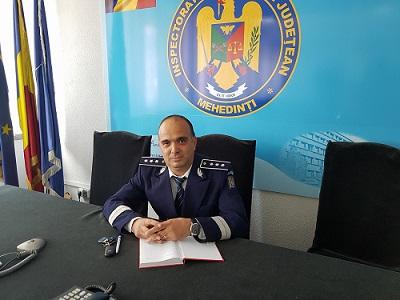 Mehedinți: Comisarul șef, Raminel Ștefan Bibu, uns adjunct al șefului IPJ