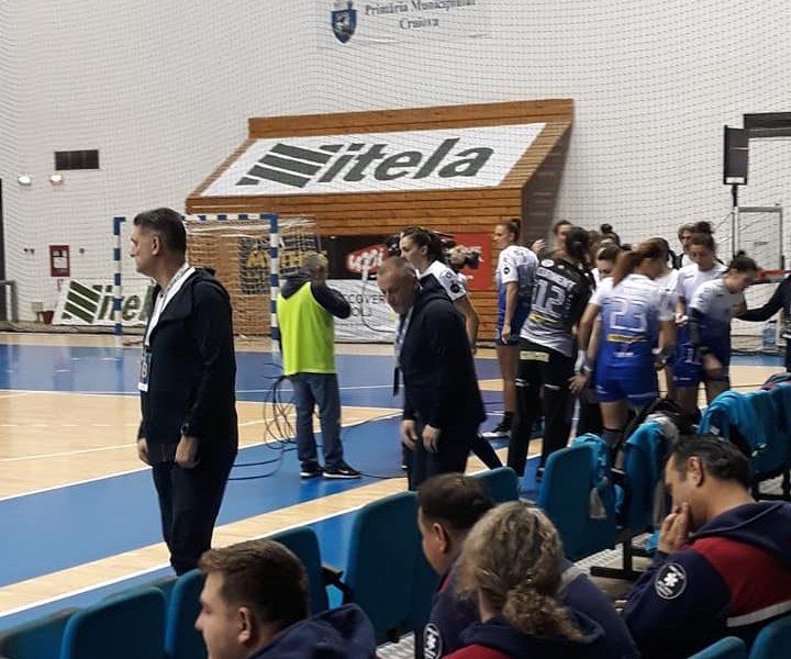 SCM Craiova, aproape scoasă din lupta pentru podiumul Ligii Florilor