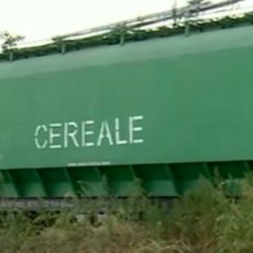 Tren cu 37 de vagoane, deraiat în Olt