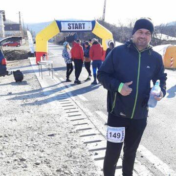 "Jandarm vâlcean, pe podium la ,,Buridava Winter Run"""