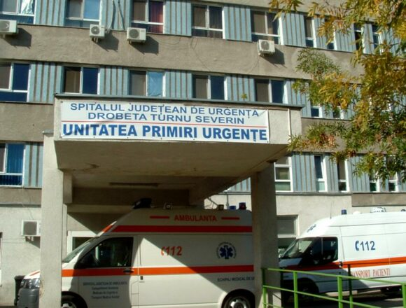 Pacient cu COVID-19 la SJU Drobeta