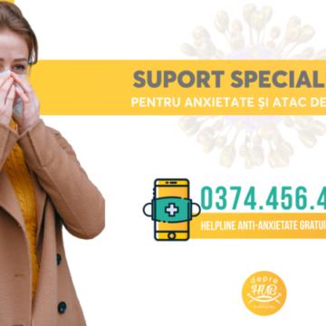 Coronavirus: S-a deschis o linie telefonică gratuită pentru românii care suferă de anxietate sau atacuri de panică