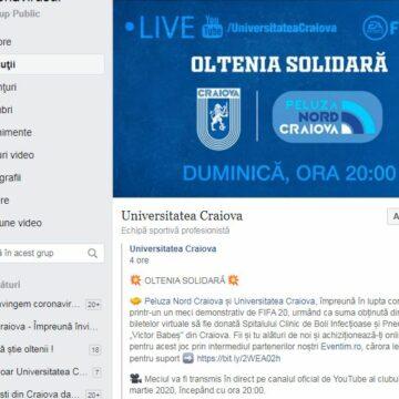 CSU Craiova clonează tot ce prinde în materie de idei