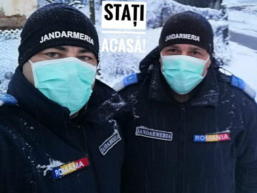 """Jandarmii gorjeni: """"Împreună pentru sănătatea dumneavoastră"""""""