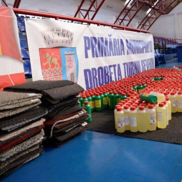 Asociațiile de proprietari din Drobeta Turnu Severin primesc preșuri și soluții dezinfectante